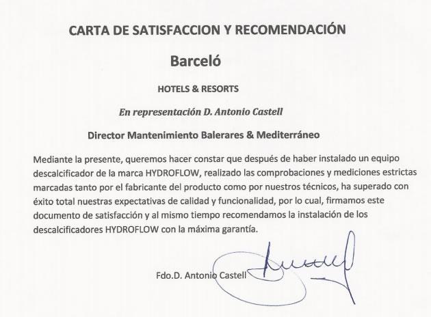 Carta Barceló
