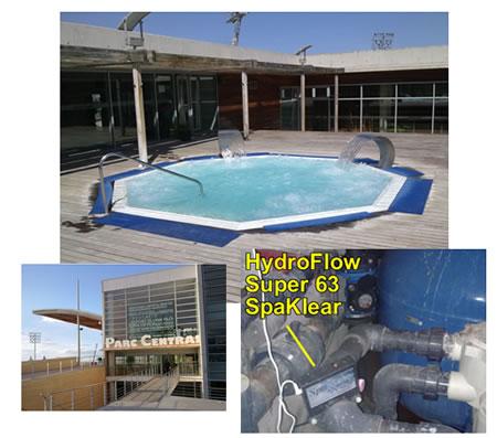 el spa protegido por HydroFlow
